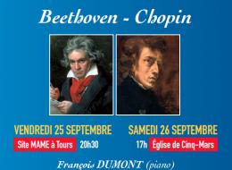 Beethoven et Chopin à la cité MAME ♦ 5€ ♦